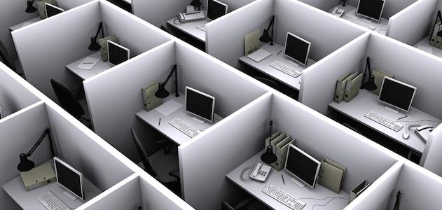 Empty-desk-cubicles-cube-farm