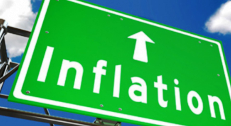 Inflation as highway sign