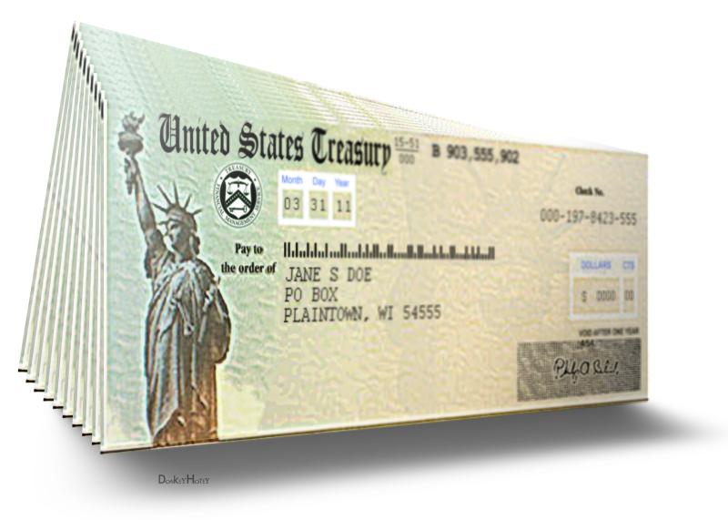 US Treasury checks_DonkeyHotey-Flickr_left