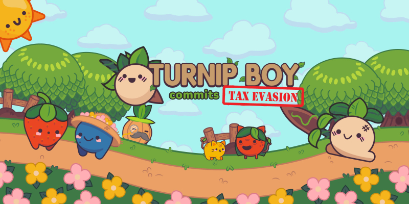 Turnip Boy Commits Tax Evasion cover banner