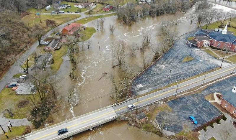 Franklin County Kentucky flooding February 2021_NWS photo-cropped