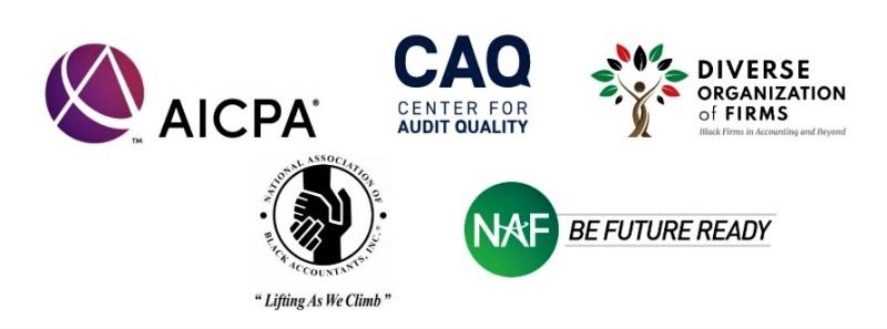 Accounting organizations logos_STEM bill support letterhead