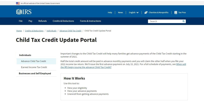 Child Tax Credit IRS Update Portal-1cropped