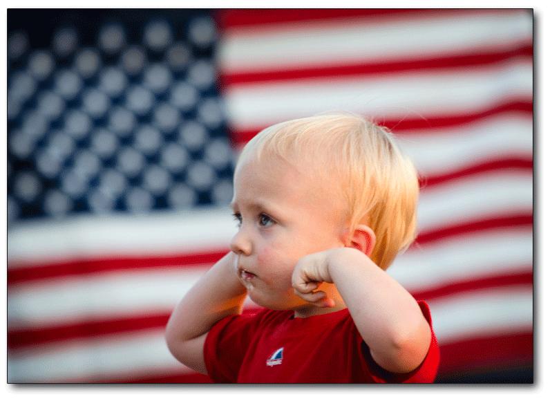 Child_flag_fireworks_noise