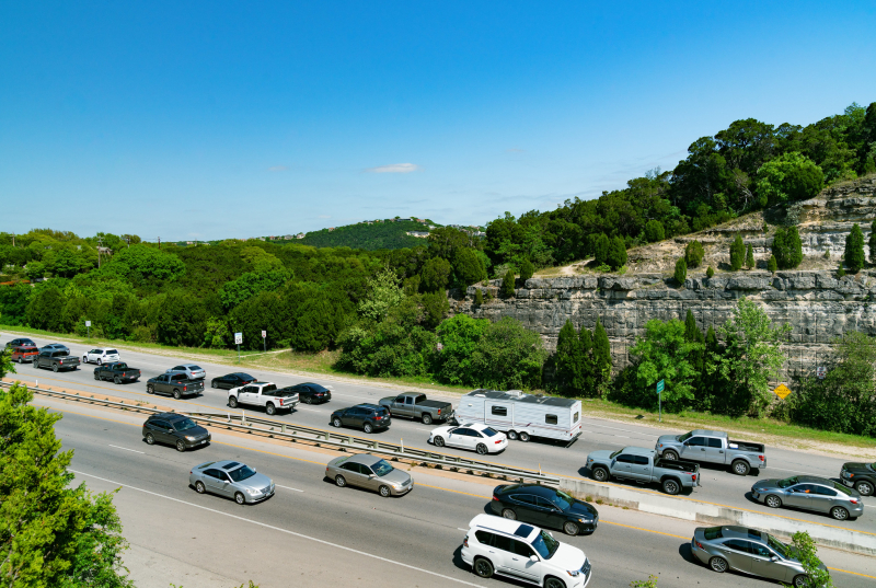 Capital of Texas Highway traffic Austin TX_Tony Webster_Flickr