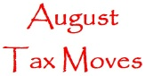 monthly tax moves