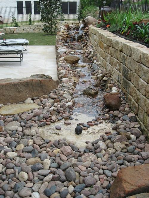 our backyard renovations our backyard stream