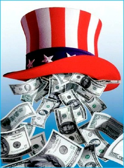 Money_from_uncle_sam_hat_2